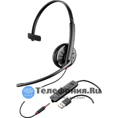 Plantronics  BlackWire C3151 - гарнитура USB/jack 35 (PL-C315.1)