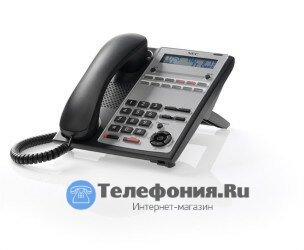 Системный телефон NEC IP4WW-12TXH-A-TEL BE110262 черный